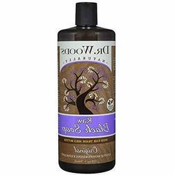 Dr. Soaps Woods Raw Black Liquid Body Wash With Organic Shea
