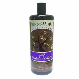 Dr. Woods Original Raw Black Exfoliating Moisturizing Liquid