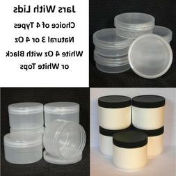 Empty Container Jars For Cosmetics, Body Butter Face Cream &