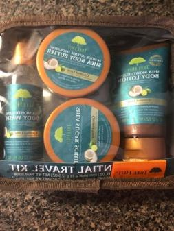 Tree Hut Essential Travel Kit, Coconut Lime, 4 Items in One
