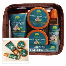 Tree Hut Essential Travel Kit Coconut Lime 4 Pc Items In One