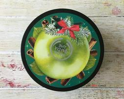 FULL SZ The Body Shop Spiced Apple Body Butter 6.75oz Dry Sk