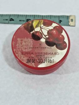 Raymond Waites Garden Body Butter ~ Cranberry Apple ~ 1.69oz