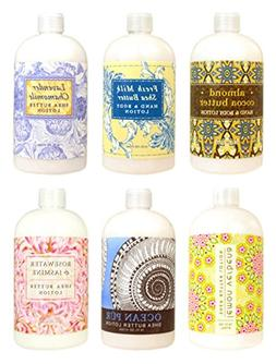 Greenwich Bay Trading Co. Hand & Body Lotion Sampler Set, 2