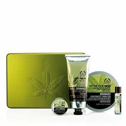 The Body Shop Hemp 4 Body Care Gift TIN Set Body butter Hand