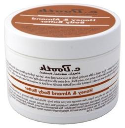 C.Booth Honey & Almond Body Butter 8oz Jar  by c. Booth