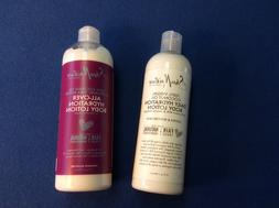 Shea Moisture hydration body lotions, w-100% coconut oil or