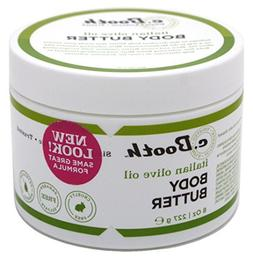 C.Booth Italian Olive Oil Body Butter 8oz Jar by c. Booth