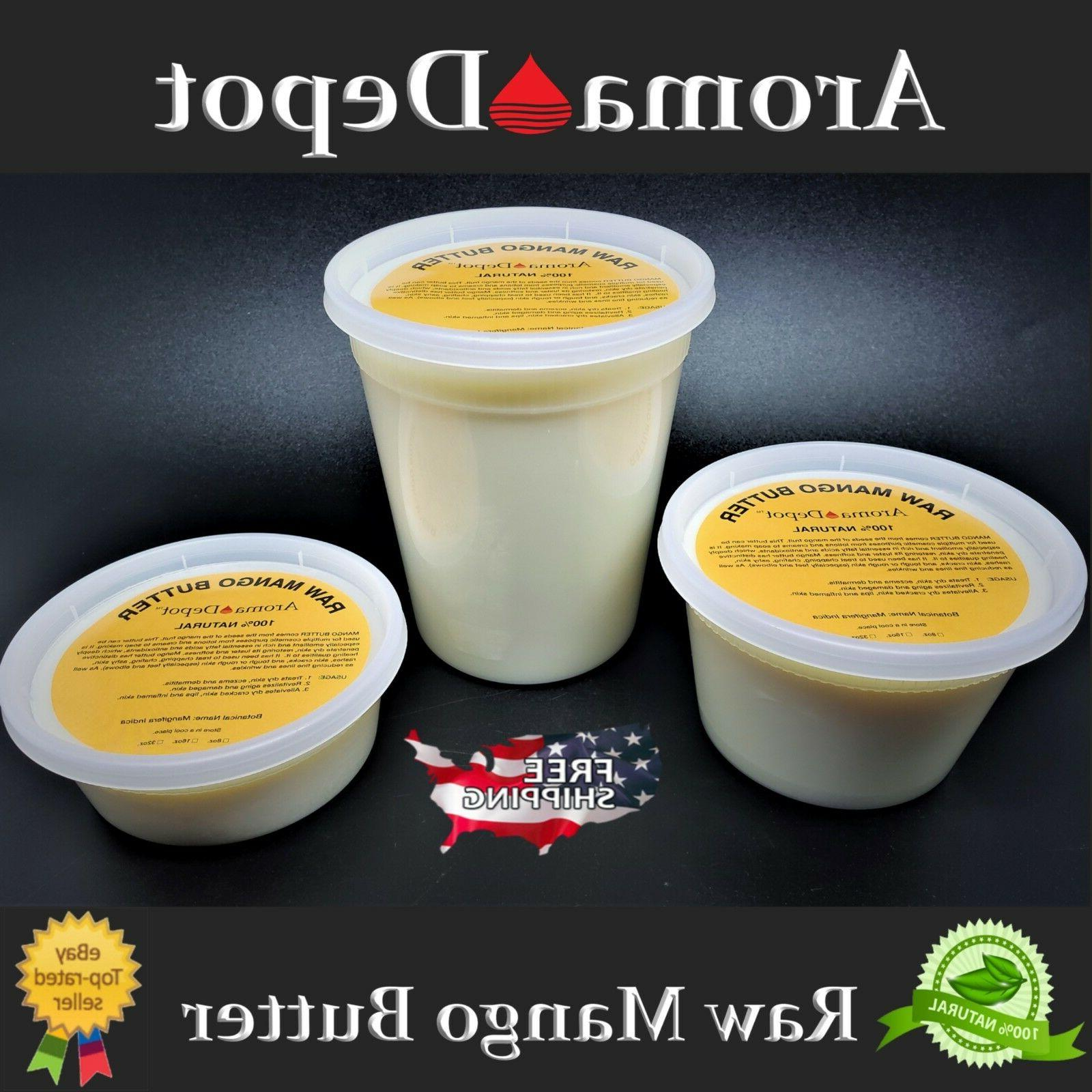 100 percent raw mango butter natural pure