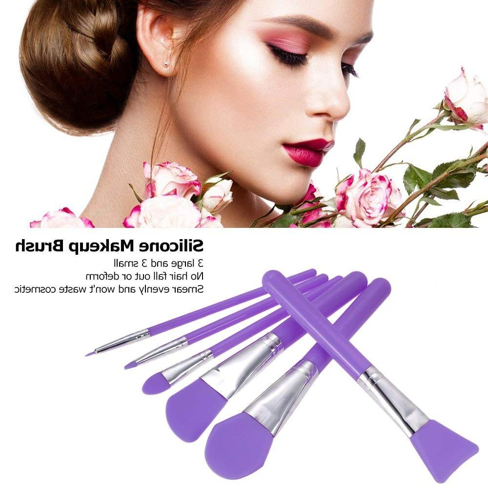 6pcs Makeup <font><b>Set</b></font> Facial Brushes Eyeshadow Kit Applicator