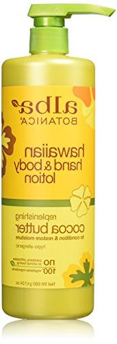 Alba Botanicals Cocoa Butter Hand & Body Lotion