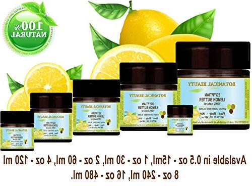 """LEMON EGYPTIAN 100 % PURE BOTANICALS. UNREFINED 15 For Hair and Nail """"One natural sources E, and lecithin which provide to Botanical"""