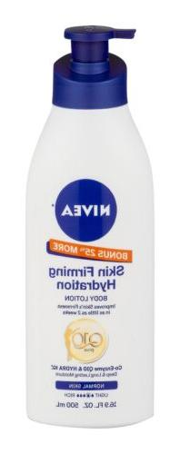 Nivea Skin Firming Hydration Body Lotion with Q10 Plus, 16.9