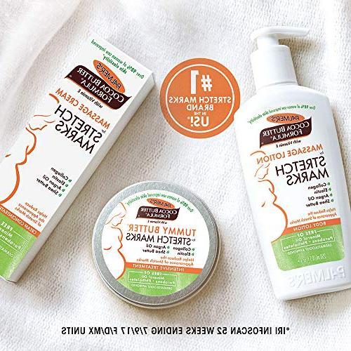 Palmer's Cocoa Butter Tummy Balm Stretch Pregnancy Skin Care, 4.4
