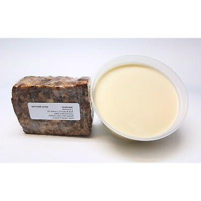 8oz Organic African Butter Ivory GHANA Natural UNREFINED