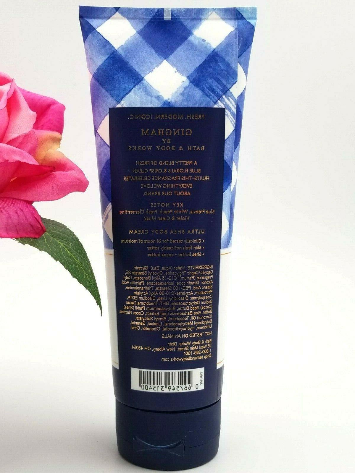 Bath and Body GINGHAM Ultra Shea CREAM lotion Fl oz