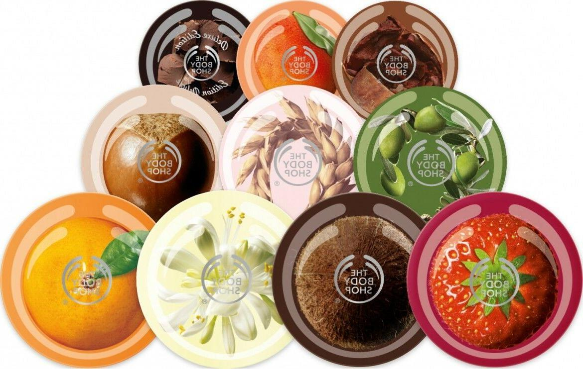 THE BODY SHOP BODY BUTTER 6.7oz/ 200mL - choose your scent ""