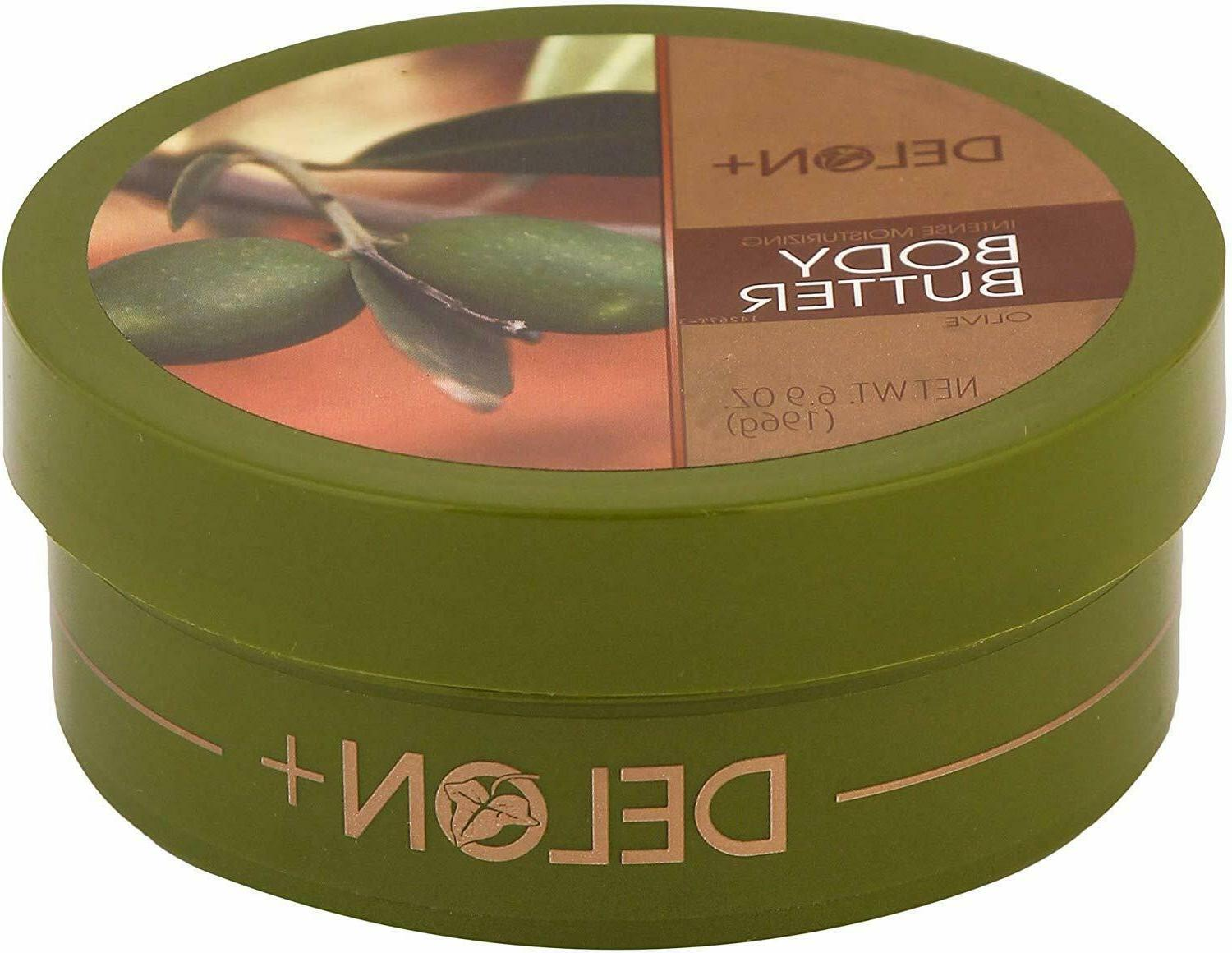 DELON Body Butter Enriched with Olive for Deep Moisturizing 