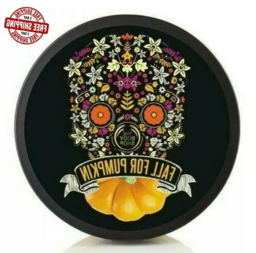 body butter vanilla pumpkin fall halloween limited