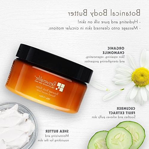 Resveralife Body Butter, 8 A Day For Your 250 g oz