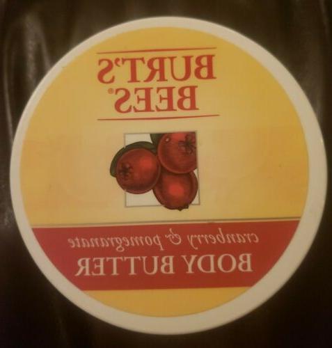 burt s bees body butter cranberry
