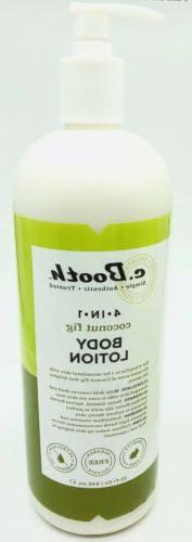 c. Booth 4-in-1 Multi-Action Body Lotion, Coconut Fig, 32 fl