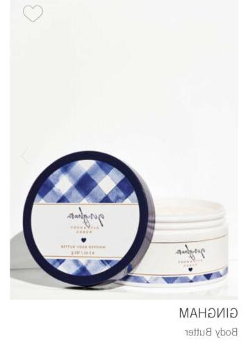 gingham whipped body butter by bath