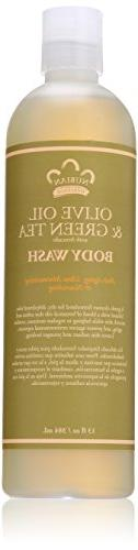 Nubian Heritage Body Wash Olive Grn Tea