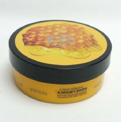 honeymania nourishing body butter very dry skin