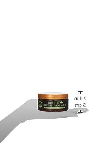Tree 24 Hour Intense Body Butter Lychee 7oz, Pure Shea Butter for Nourishing Essential Care