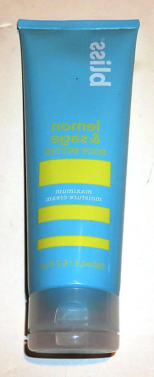 Bliss Lemon & Sage Body Butter   Maximum Moisture Cream 6.7