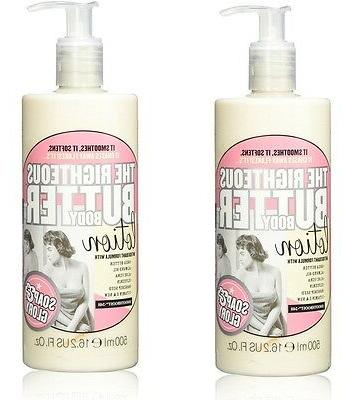 Lot of 2 Soap & Glory The Righteous Body Butter Lotion 16.2