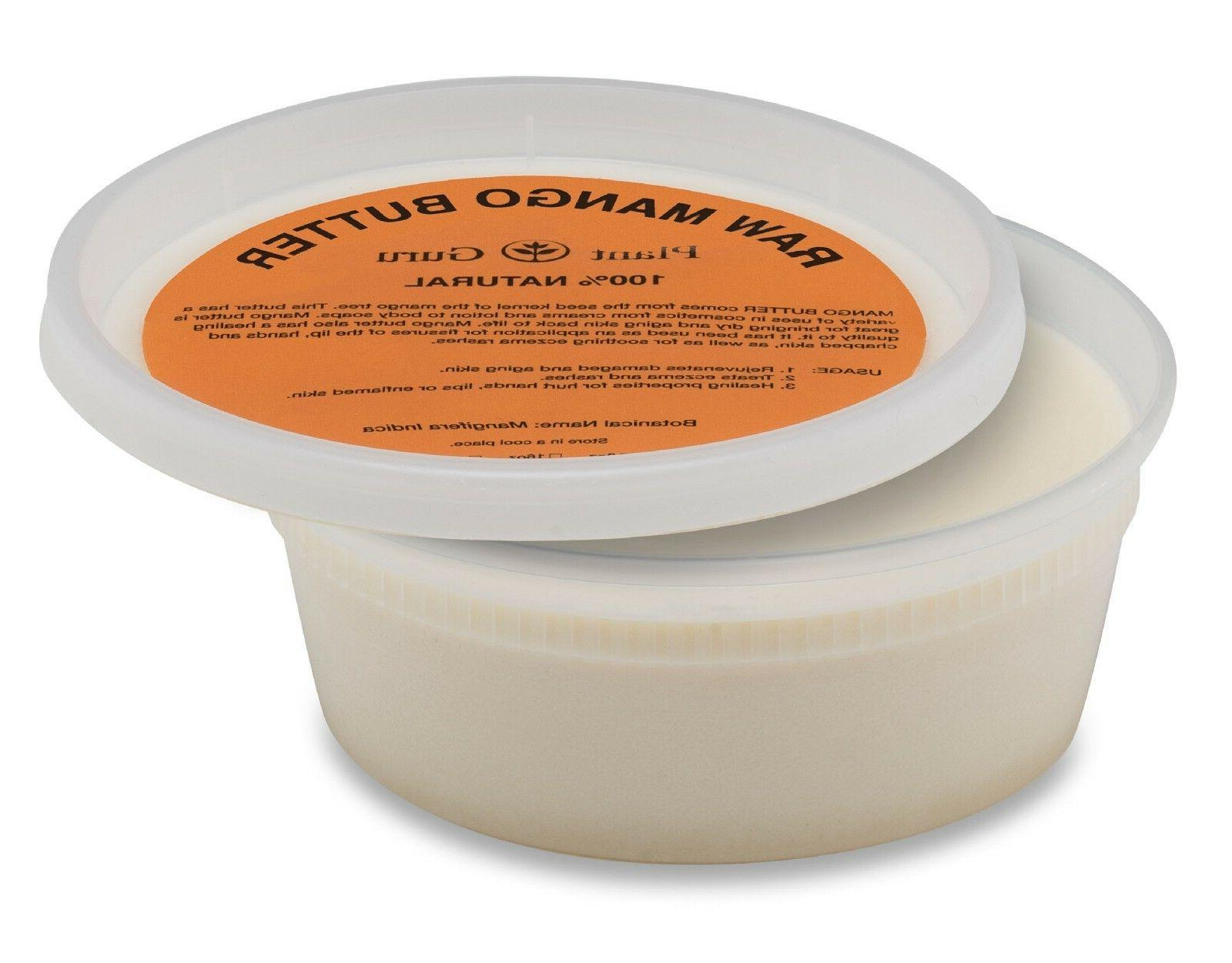 Mango Butter Raw oz. Pure Unrefined Organic Natural Skin,