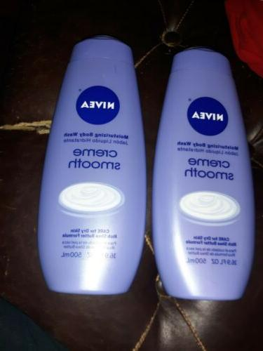 NIVEA Moisturizing Body Wash, Creme Smooth 16.90 oz