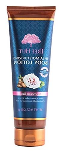 TREE HUT Moroccan Rose Body Lotion 9oz, pack of 1