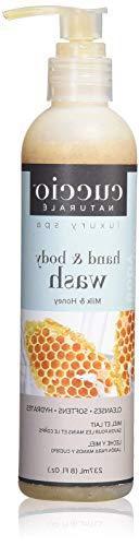 Cuccio Naturale Hydrating Body Butter Wash Milk & Honey 8 oz