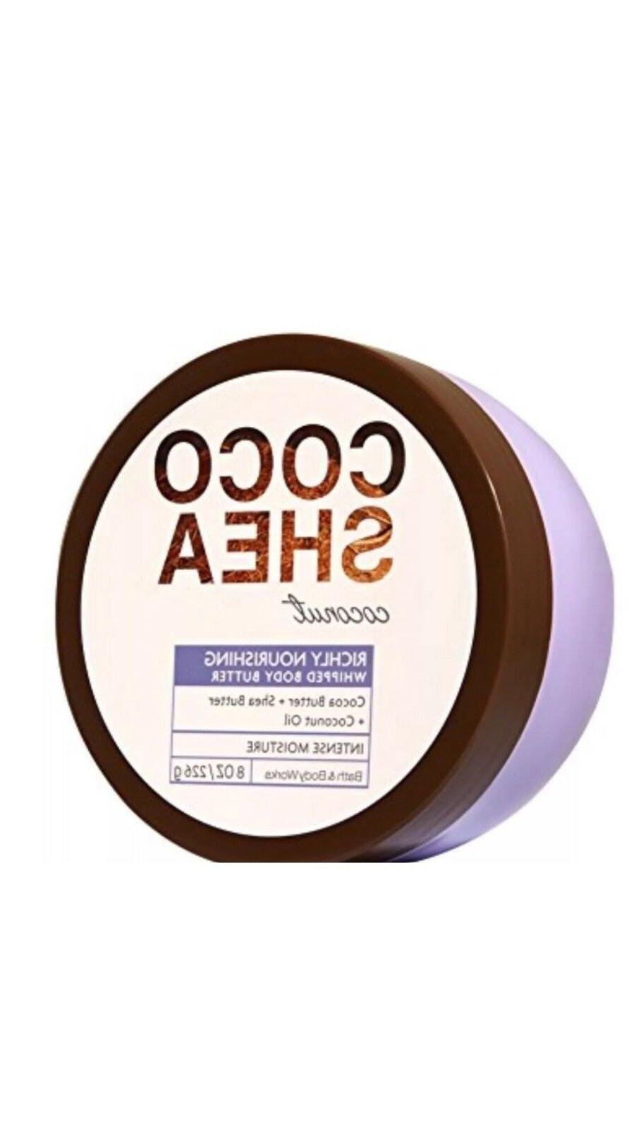 new bath body works coco shea coconut