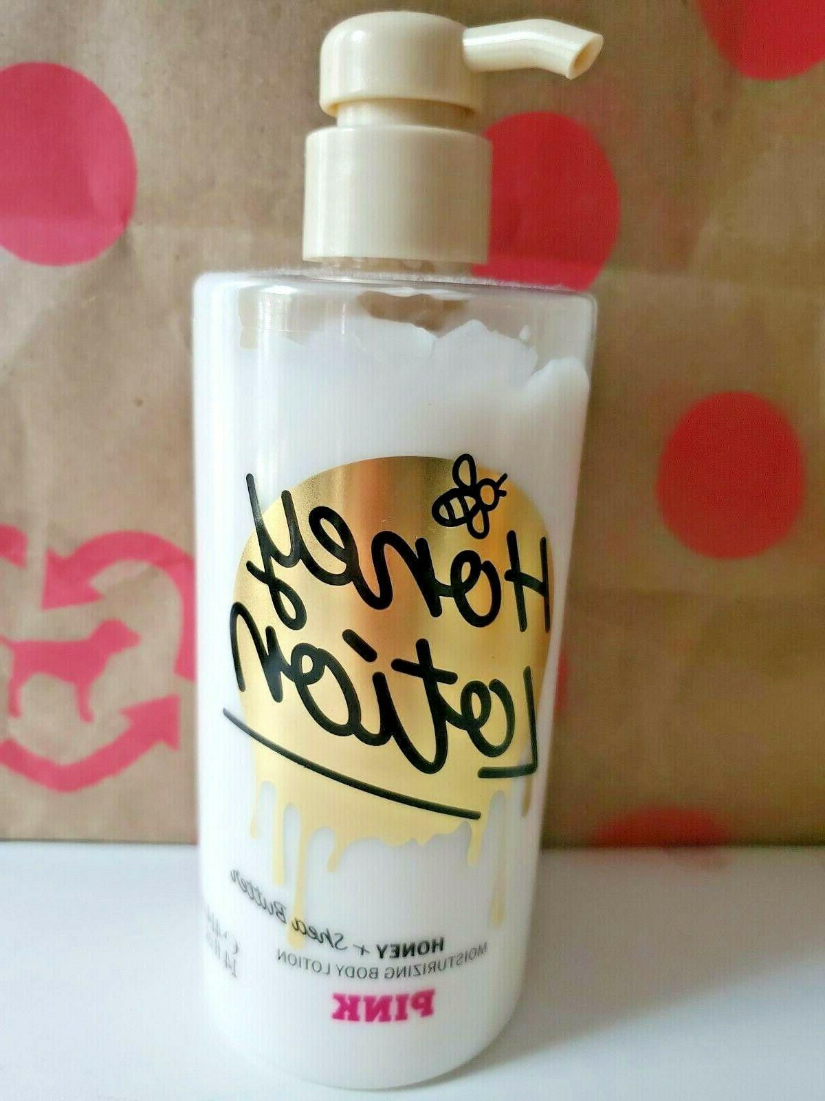 NEW VICTORIA'S PINK HONEY + SHEA BUTTER LOTION