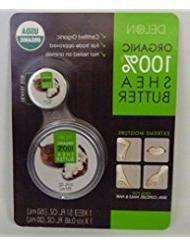 Delon Organic 100& Shea Butter 5.1fl. oz. with Travel Size 0