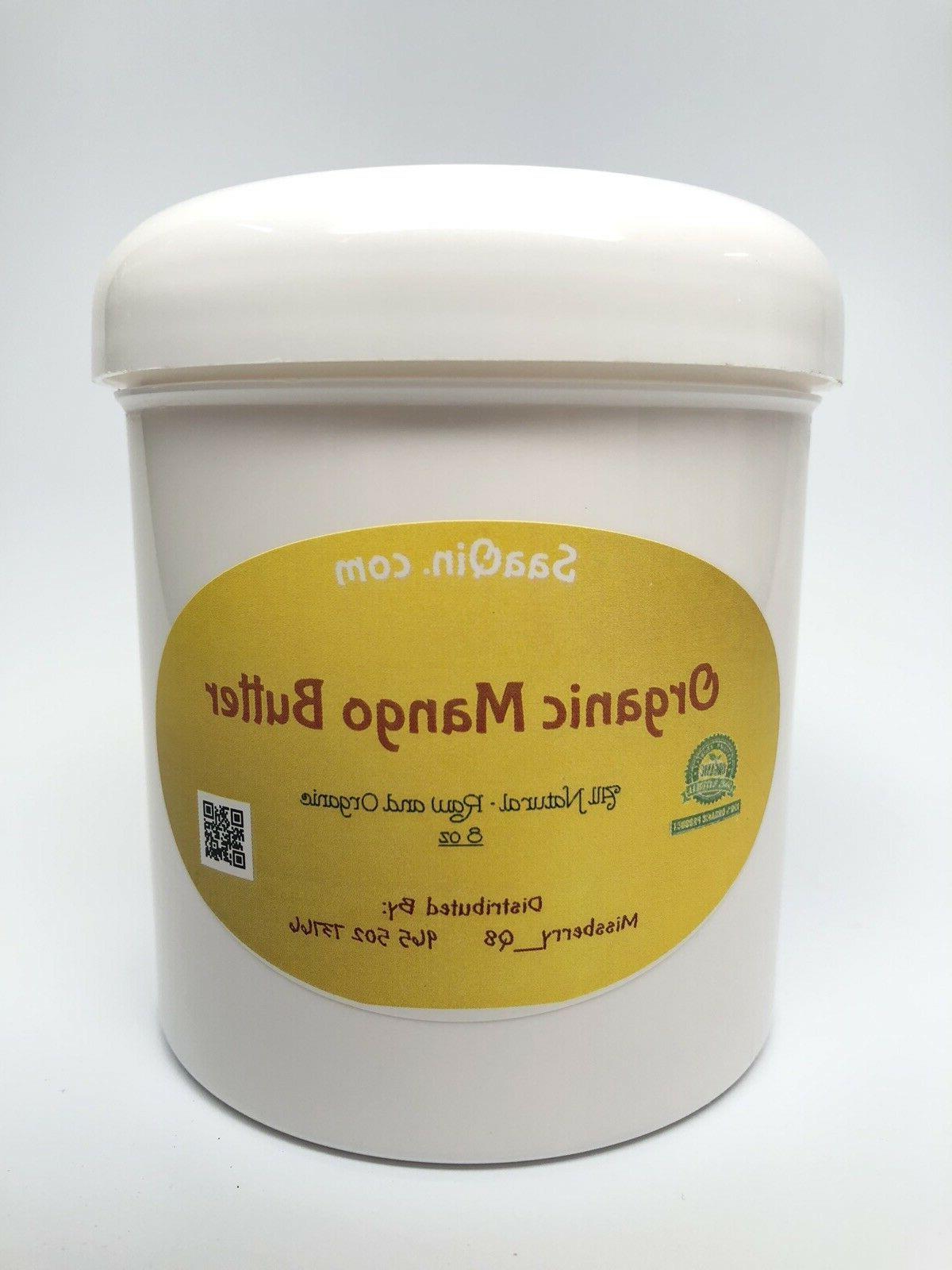 Organic Raw PREMIUM QUALITY Pure Skin Face Unrefined