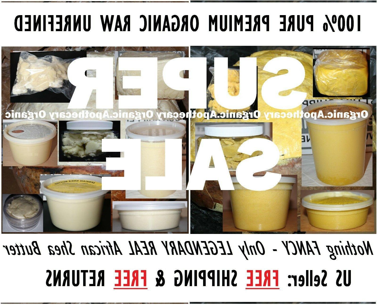 premium raw shea butter 100 percent natural