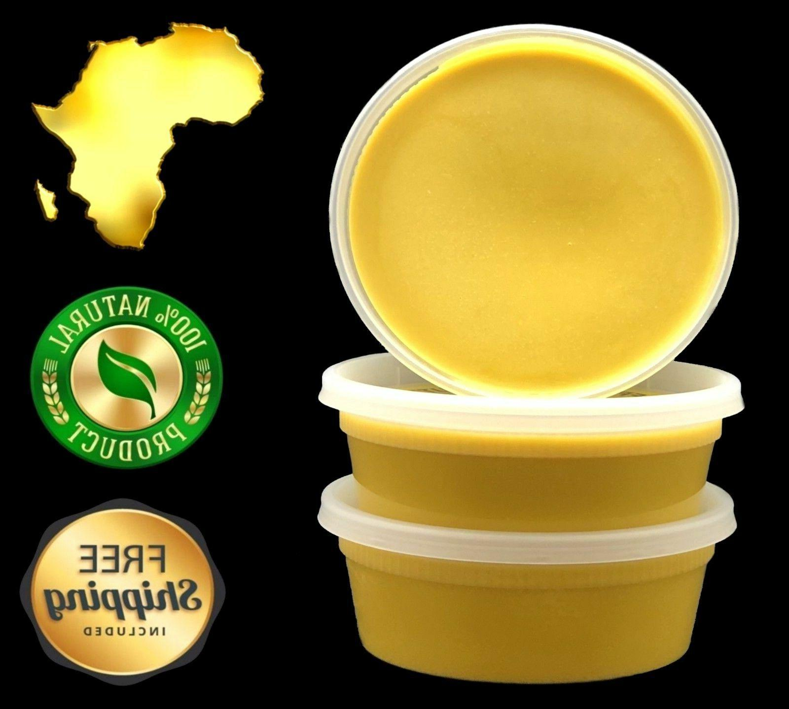 Raw Butter 8 oz 100% Pure Unrefined Organic Natural Ghana