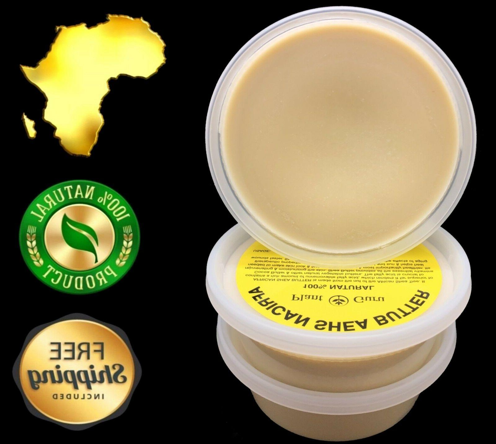 raw african shea butter 8 oz 100