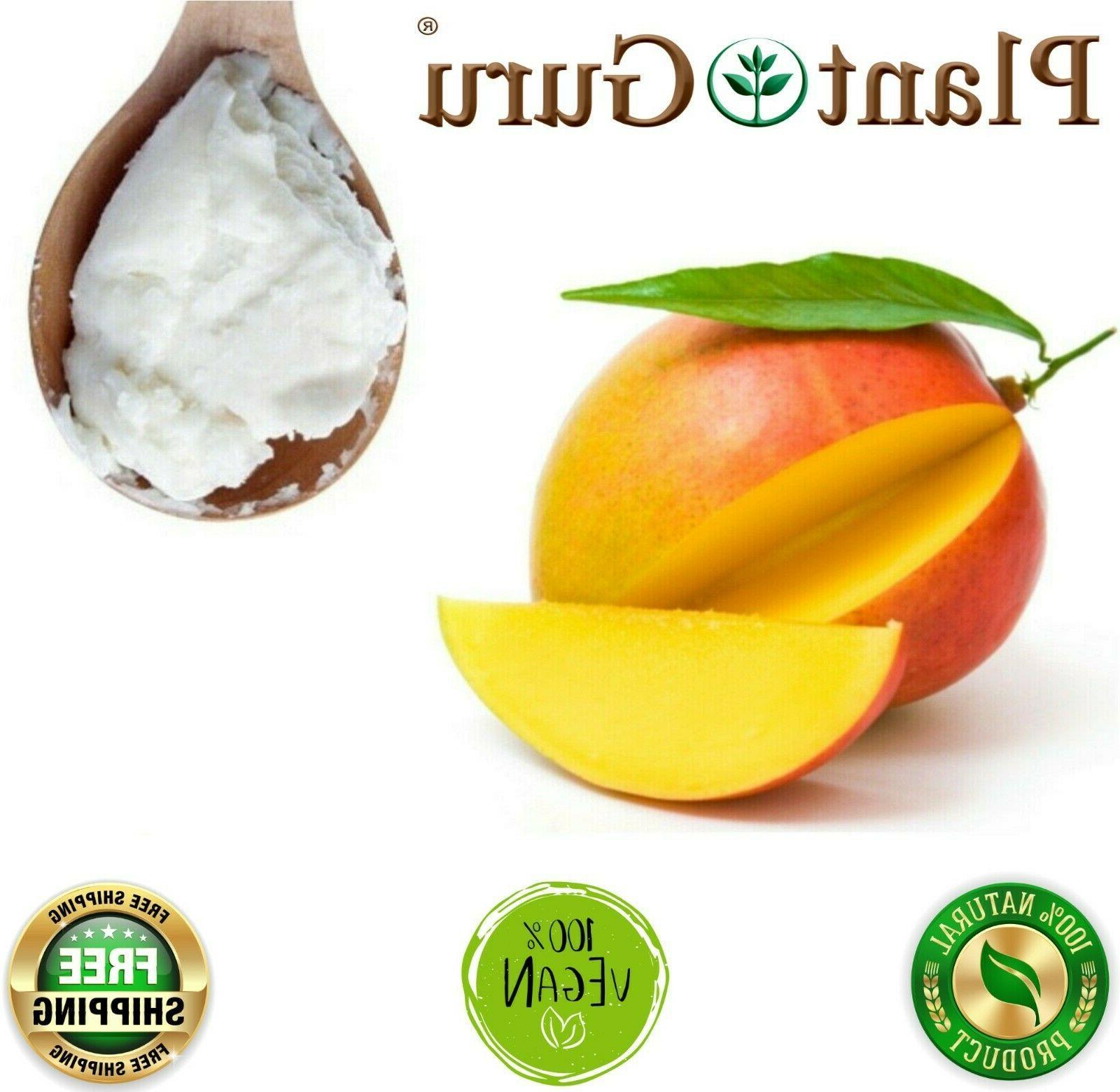 raw mango butter 100 percent pure organic