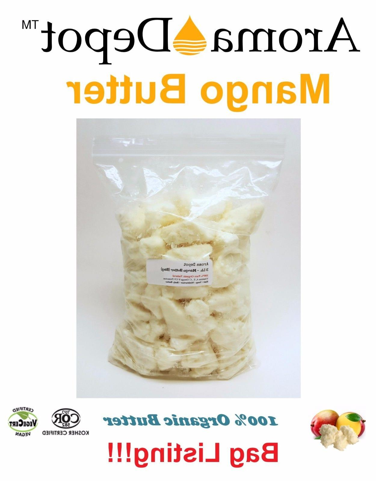 raw mango butter organic natural 100 percent