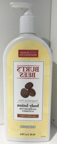 Burt's Bees Fragrance Free Shea Butter and Vitamin E Body Lo