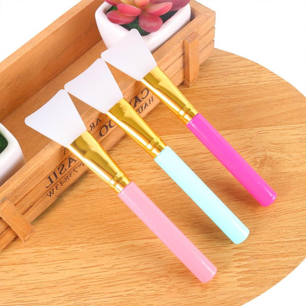 Yiwa Brush,Mask Tool Soft Silicone Facial Hairless Lotion And <font><b>Butter</b></font> Applicator Tools