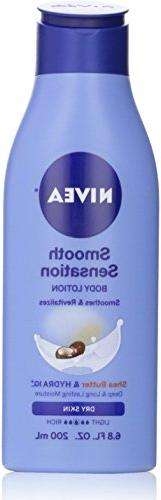 Nivea Smooth Sensation Body Lotion Smoothes & Revitalizes -