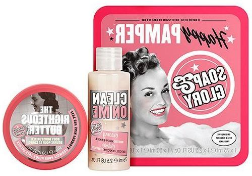 Soap & Glory Happy Pamper butter and creamy gel SPA