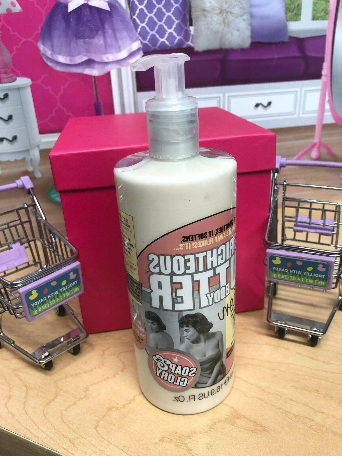 soap and glorythe righteous butter body lotion